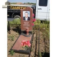Памятник из цветного гранита 00003 — ritualum.ru