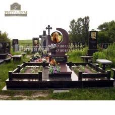 Памятник с фотокерамикой №5 — ritualum.ru