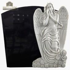 Скульптура ангела из мрамора №113 — ritualum.ru